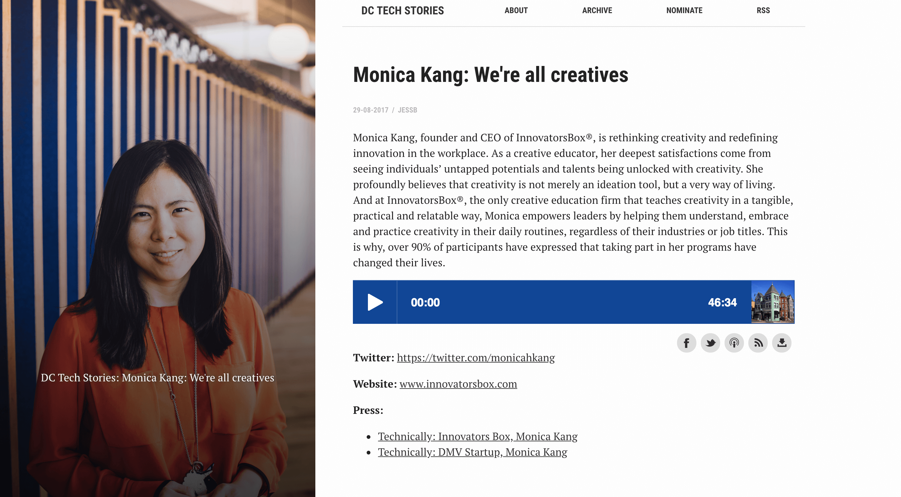Monica Kang | DC Tech News