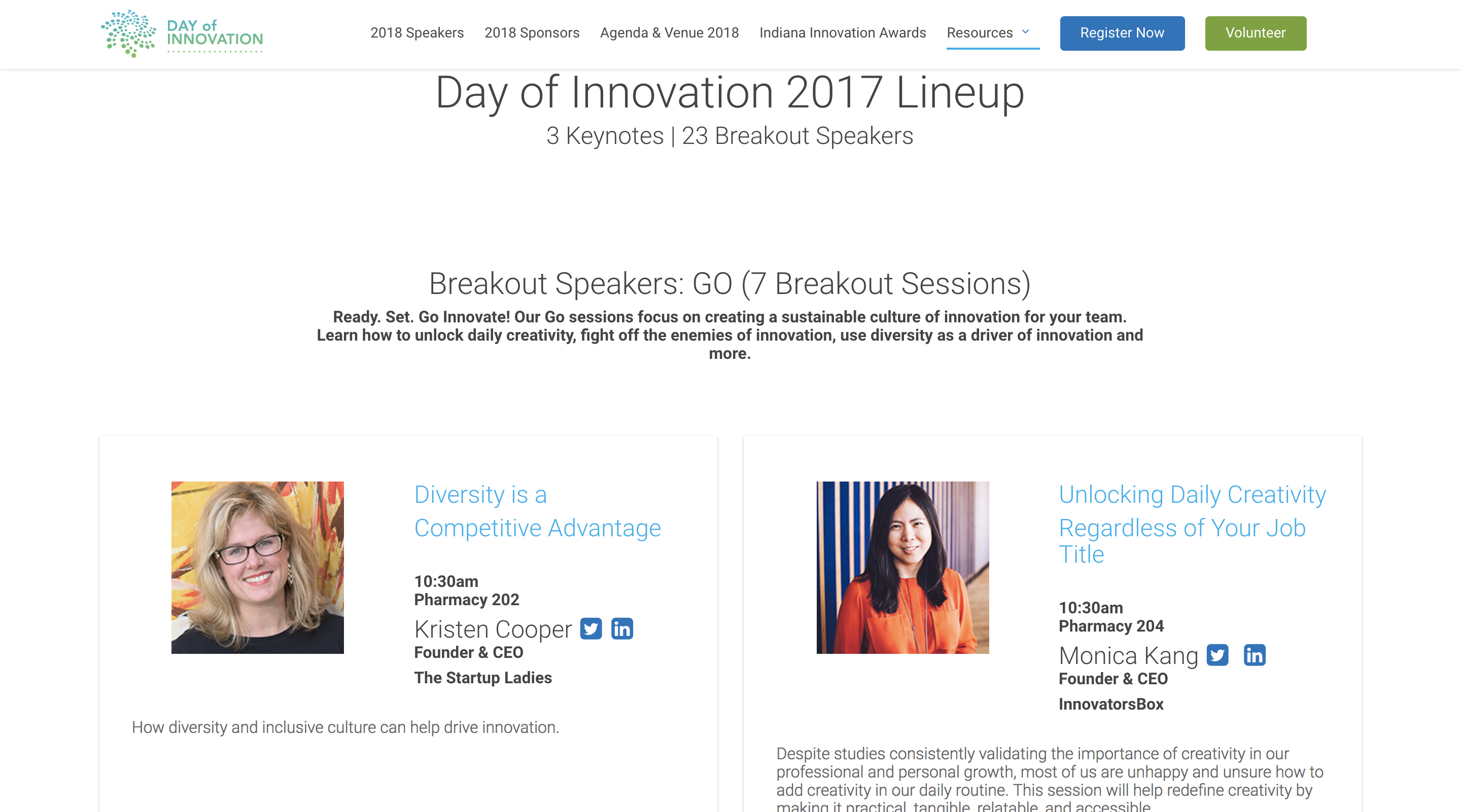 Monica Kang | Day of Innovation